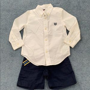 Chaps outfit. Size 3/3t.